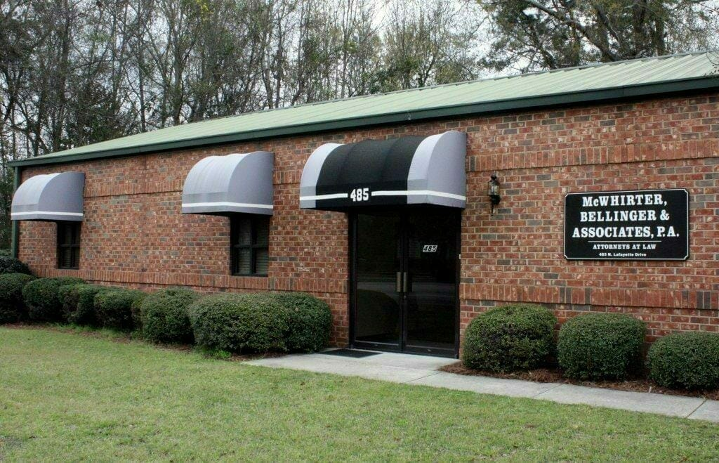 McWhirter Bellinger and associates injury office in sumter south carolina