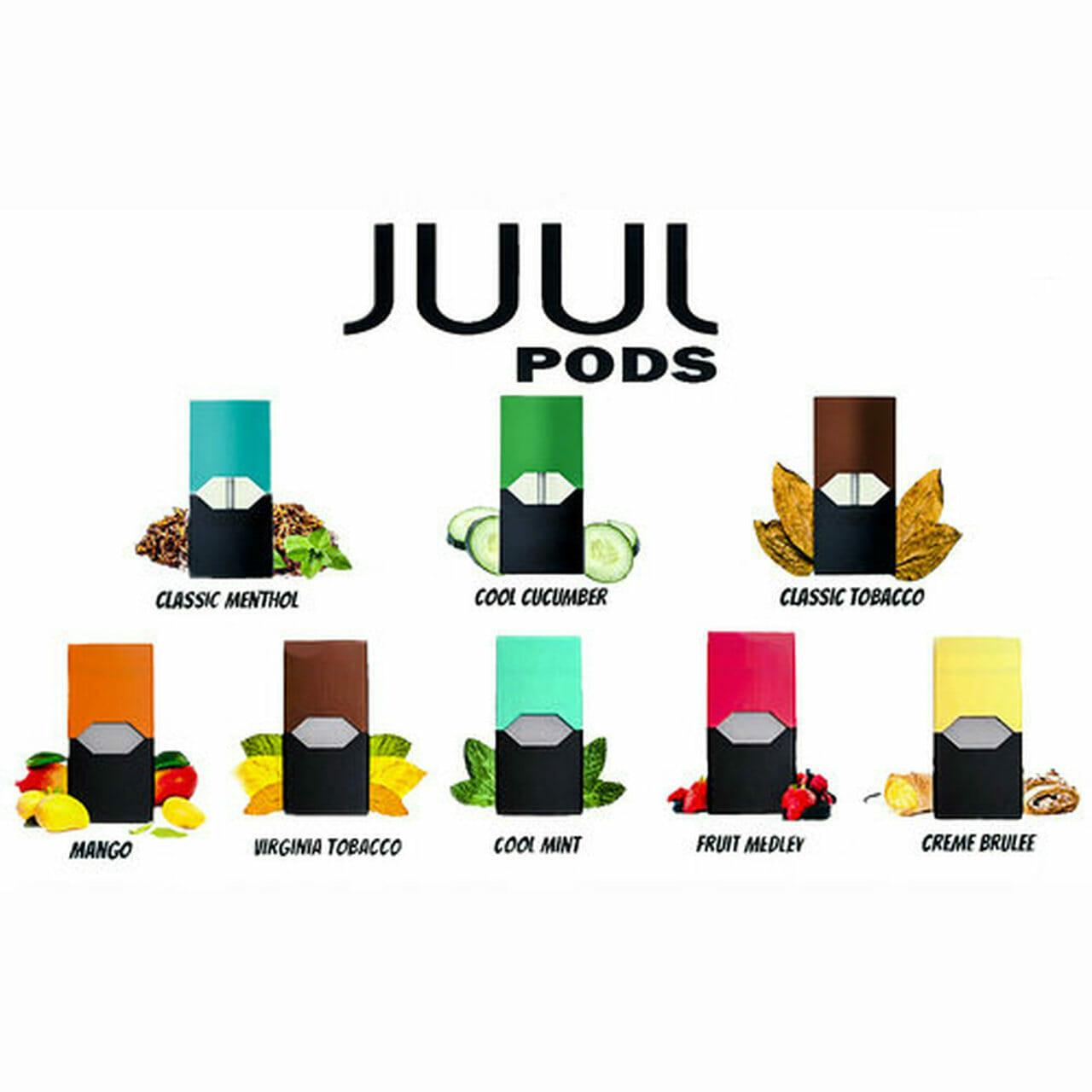 JUUL Vaping Pods