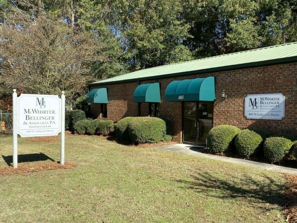 McWhirter, Bellinger Sumter Office