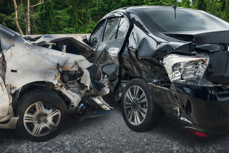 DUI Car Wreck